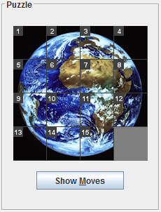 Optimal 8/15-Puzzle Solver